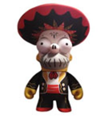 Kid Robot Simpsons x Kidrobot Homer Day of the Dead: Black Mariachi