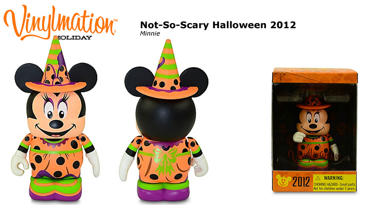 Vinylmation Open And Misc Holiday 2012 Not-So-Scary Halloween Minnie