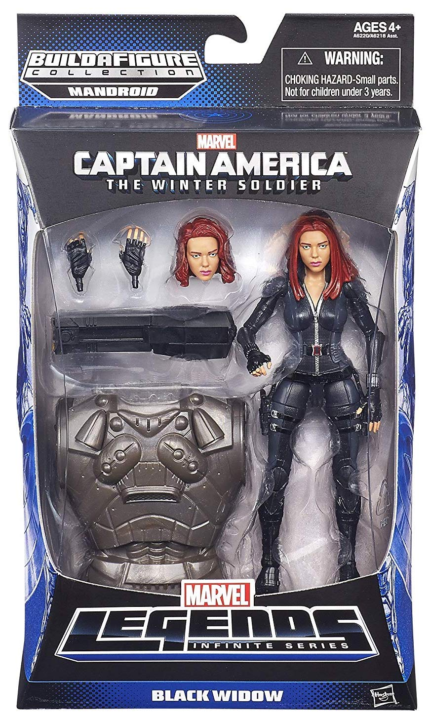Marvel Legends Mandroid Series Black Widow