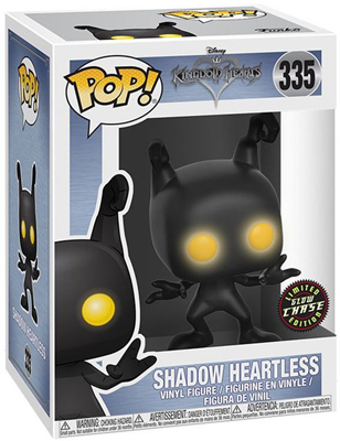 Funko Pop! Games Shadow Heartless (Glow) - CHASE Stock