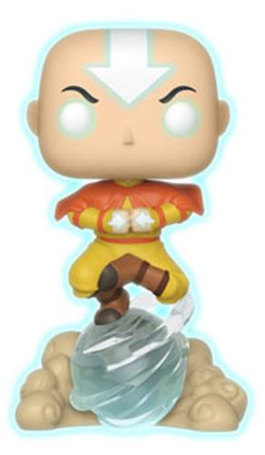 Funko Pop! Animation Aang on Airscooter - Chase