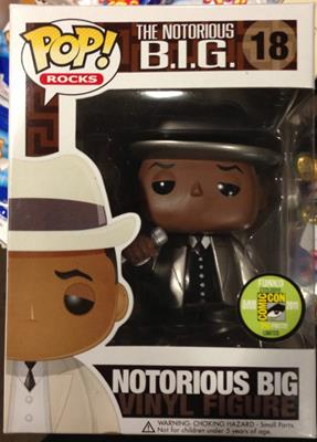 Funko Pop! Rocks Notorious B.I.G. (Metallic) Stock Thumb