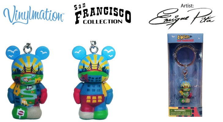 Vinylmation Open And Misc City San Francisco Lombard St Jr.