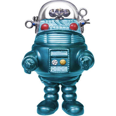 Funko Pop! Movies Robby the Robot (Turquoise Metallic)