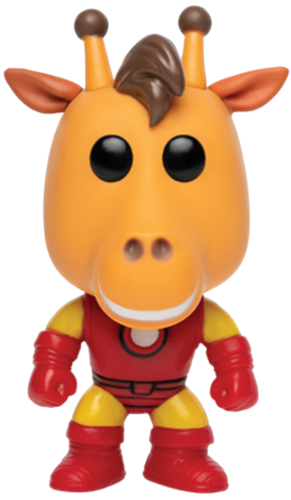 Funko Pop! Ad Icons Geoffrey as Iron Man