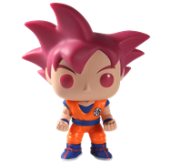 Funko Pop! Animation Goku (Super Saiyan God)