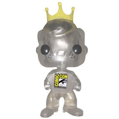 Funko Pop! Freddy Funko Freddy Funko (Clear) Icon