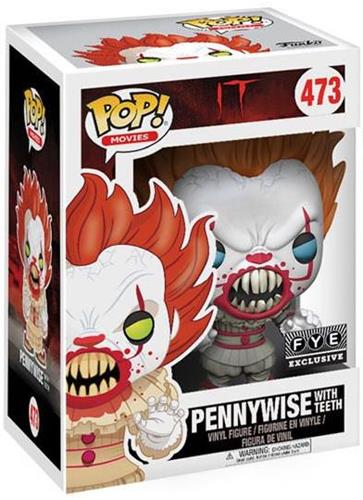 Funko Pop! Movies Pennywise (w/ Teeth) - Blue Eyes Stock