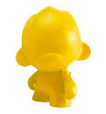 Kid Robot Blind Boxes DIY Micro Foomi Yellow