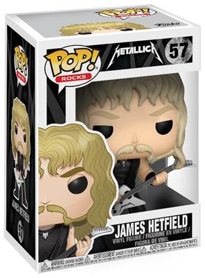 Funko Pop! Rocks James Hetfield Stock