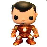 Funko Pop! Freddy Funko Tony Stark (Metallic)