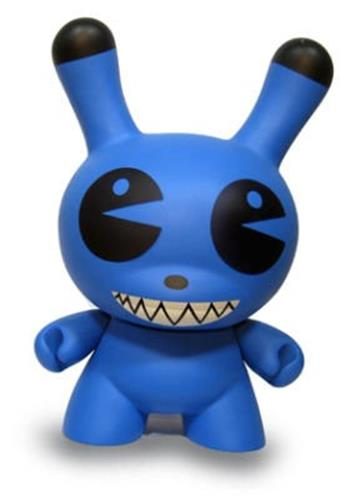 "Kid Robot 20"" Dunnys Pac Man (Blue) Icon"