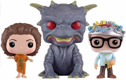 Funko Pop! Movies The Gatekeeper, Zuul & The Key Master (3-Pack) Icon
