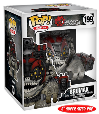 "Funko Pop! Games Brumak - 6"" Stock"
