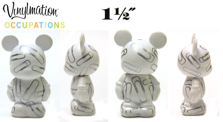 Vinylmation Open And Misc Occupations Jr. Paper Clips