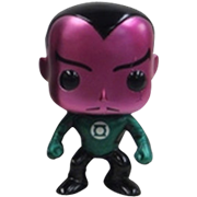 Funko Pop! Heroes Sinestro (Movie) (Metallic)