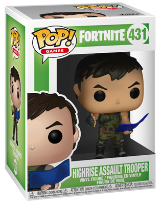 Funko Pop! Games Highrise Assault Trooper Stock
