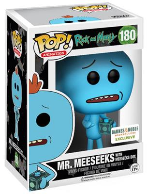 Funko Pop! Animation Mr. Meeseeks (w/ Meeseeks Box) Stock