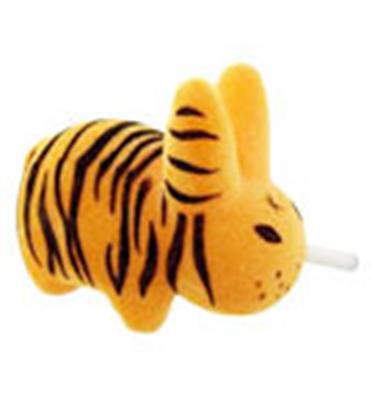 Kid Robot Labbit Packs Jungle Magic: Tiger Stock