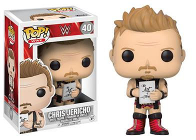 Funko Pop! Wrestling Chris Jericho Stock