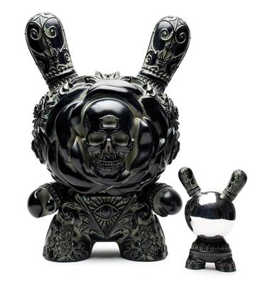 "Kid Robot 20"" Dunnys Clairvoyant (Antique Black)"