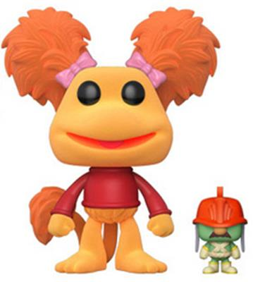 Funko Pop! Television Red & Doozer (Flocked)