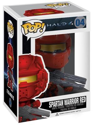Funko Pop! Halo Spartan Warrior Red Stock Thumb