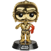 Funko Pop! Star Wars C-3PO (w/ Red Arm) - Chrome