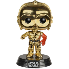 C-3PO (The Force Awakens) (Chrome Metallic)