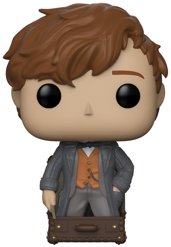 Funko Pop! Fantastic Beasts Newt Scamander in Suitcase
