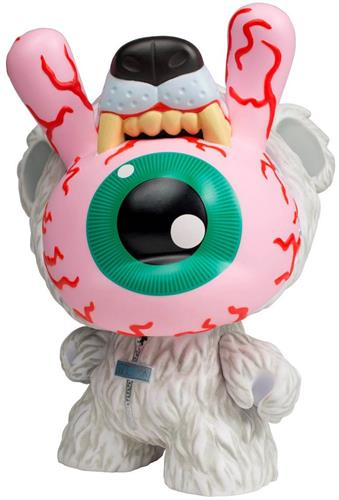"Kid Robot 8"" Dunnys Bad News Dunny: Polar Icon"