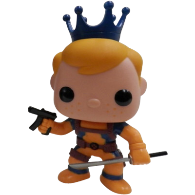 Funko Pop! Freddy Funko Deadpool (Orange) Icon