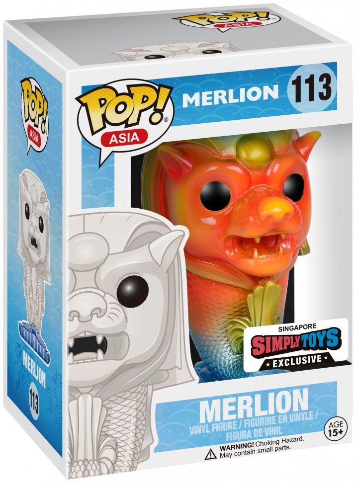 Funko Pop! Asia Merlion (Rainbow) Stock
