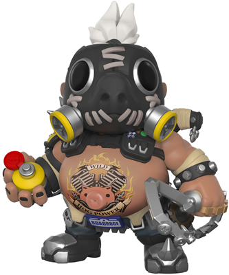 Funko Pop! Games Roadhog - 6""