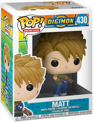 Funko Pop! Animation Matt Ishida Stock