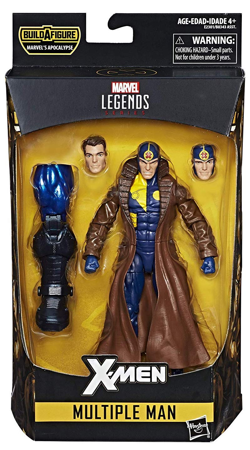 Marvel Legends Apocalypse Series Multiple Man