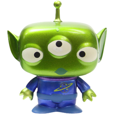 Funko Pop! Disney Alien (Metallic)