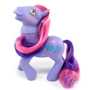 My Little Pony Year 10 Purple pony (UK - Talk A Lot)