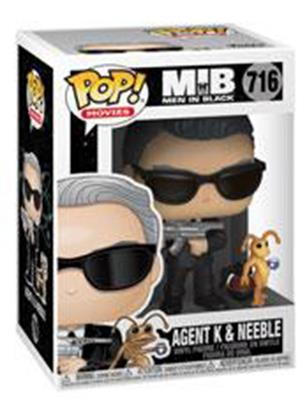 Funko Pop! Movies Agent K and Neeble Stock