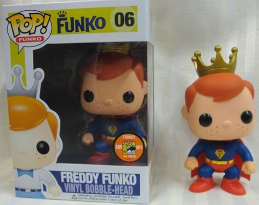Funko Pop! Freddy Funko Superman Stock