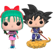 Funko Pop! Animation Bulma & Goku with Flying Nimbus