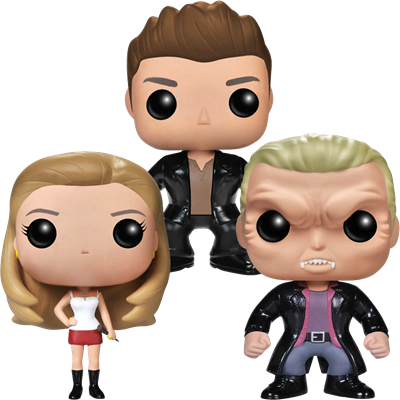 Funko Pop! Television Angel, Buffy & Vampire Spike