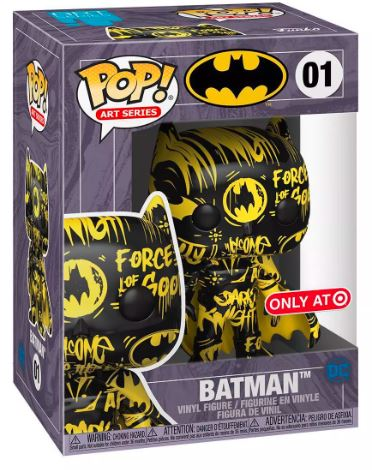 Funko Pop! Art Series Batman (Black & Yellow) Stock
