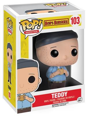 Funko Pop! Animation Teddy Stock