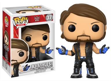 Funko Pop! Wrestling AJ Styles Stock