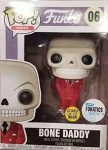 Funko Pop! Funko Bone Daddy (Red Suit) - Glow Stock