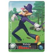 Amiibo Cards Mario Sports Superstars Waluigi - Golf