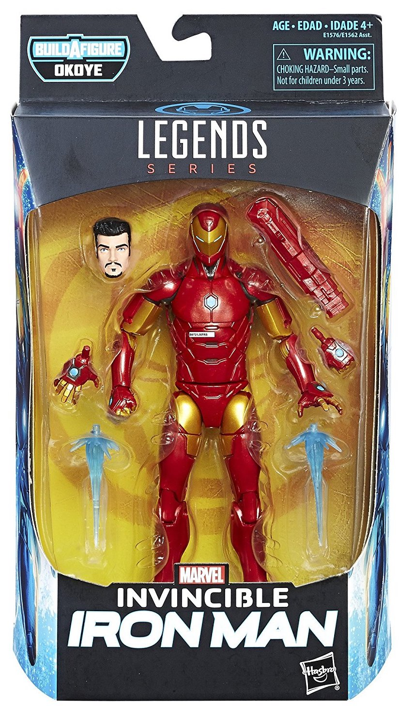 Marvel Legends Okoye Iron Man