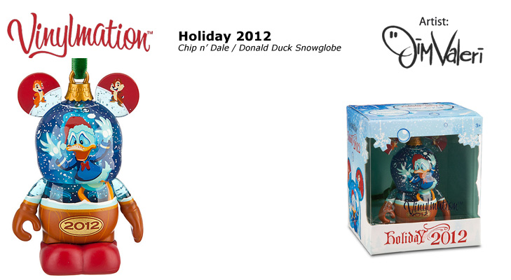 Vinylmation Open And Misc Exclusives Holiday 2012 - Chip an' Dale & Donald