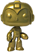 Funko Pop! Games Mega Man (Gold)